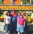 Tim McCarty and family at Silver Dollar City before the weight loss.