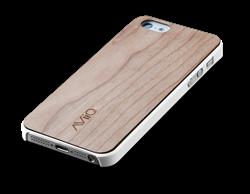 AViiQ Wood Trim Thin Series iPhone 5S/5 Cases - White