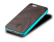 AViiQ Wood Trim Thin Series iPhone 5S/5 Cases - Blue Walnut