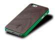AViiQ Wood Trim Thin Series iPhone 5S/5 Cases - Green Walnut