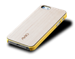 AViiQ Wood Trim Thin Series iPhone 5S/5 Cases - Yellow Maple