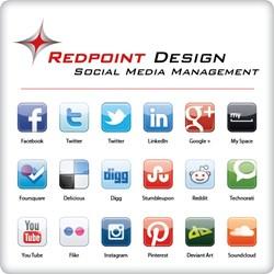 Redpoint Design Social media management