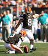 "Cleveland Browns' Kicker Billy Cundiff Launches 2014 ""Kicking For The..."
