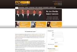 Fort Lauderdale Personal Injury Lawyers Website