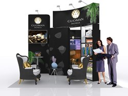 Exhibition stand Guoman & Thistle
