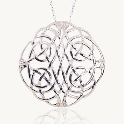 Celtic Knot, Celtic Knot Pendant, Eternal Knot, Celtic Love Knot, Celtic Promise