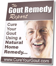 how to get rid of gout how the gout remedy report