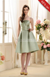 Gorgeous A-Line Spaghetti Strapless Knee-Length Bridesmaid Dress