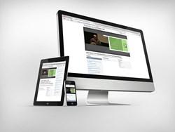 Online presentation responsive design