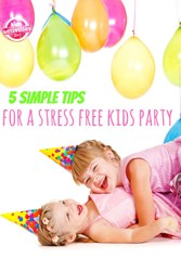 stress free kids party