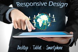 responsive website design in Markham
