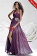 Charming One-shoulder Floor-length Sleeveless A-Line Evening Dress