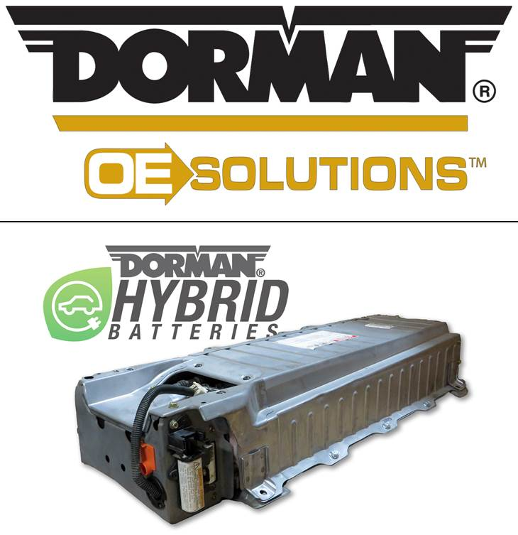 Dorman Products Inc Announces Acquisition Of Re Involt Technologies And Launch New Oe Solutions Hybrid Drive Battery Program