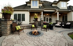 Columbus Ohio Outdoor living space