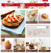 Project6 Designs 2013 Silver W3 Awards Winning Biscoff Website