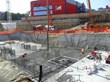 Penetron Admix treated concrete being poured at the Ferrari project - 1