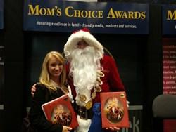 tamara amos, santa claus, moms choice awards, book awards, book expo america