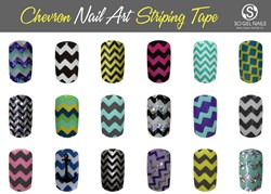 Chevron Nail Designs by SO Gel Nails