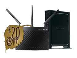 NETGEAR WNR3500L VPN Client Router and Asus RT-N66U VPN Client Router from Sabai Technology