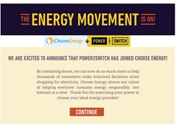 Choose Energy and Power2Switch