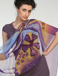 One of a Kind Hand Made Silk Scarves