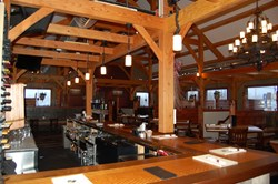 Timber Creek's Restaurant Timber Frame