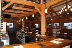Timber Creek's Restaurant Timber Frame