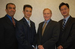Dr. Shirzadnia, Dr. Yam, Dr. Pasch, Dr. Song
