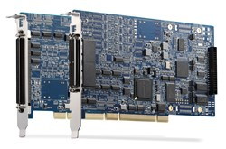 ADLINK's AMP-204C/208C DSP-based 4/8-axis Advanced Pulse-Train Motion Controllers