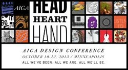 AIGA Head Heart Hand Logo