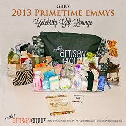 The Artisan Group® 2013 Primetime Emmys Celebrity Gift Lounge Swag Bag