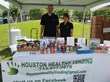 Shelley Levine & Corban Bates of Houston Healthy Vending hosting a sampling event