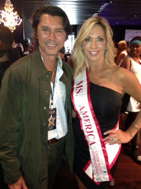 Pageant Beauty Carla Gonzalez Takes Her Community