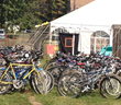 Bikes at the VNA Rummage Sale