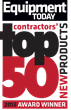 Equipment Today Magazine Announces Contractors' Choice for Top 50...