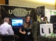 USAFact Background Screening booth at the CTA APEX Conference