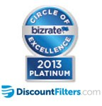 2013 Circle of Excellence DiscountFilters.com