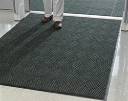 Eco Premier indoor-outdoor entrance mats combine recycled materials with all of the performance features of our original Waterhog.