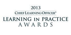 Learning in Practice Award 2013