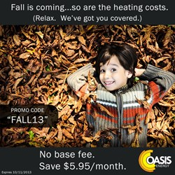 Oasis Energy - Fall Promotion