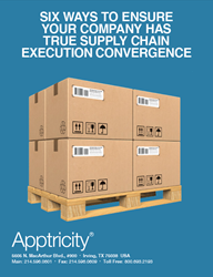 Apptricity, supply chain management software