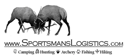 Sportsman's Logistics, Camping, Hunting, Fishing, Hiking, Climbing, Shooting, Archery, Swimming, Boating, Metal Detecting, Prospecting.
