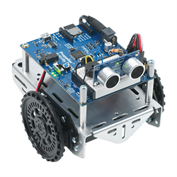 Mulitcore Propeller ActivityBot with breadboard and programmable circuits by Parallax