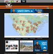 Screenshot of BikerRallyRoads.com