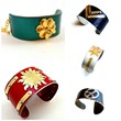 """Crash"" Cuff Bracelets from the ""Crash by Minabea"" Collection"