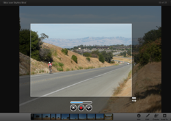 Selecting an Animated GIF Capture with Gyazo.