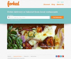 Forked.com food delivery in Los Angeles