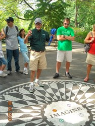 OnBoard New York Tour Guide in Central Park