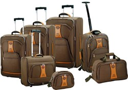 Image of designer luggage set