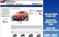 Easy way to secure your vehicle. Simply add it to your cart and follow check out steps.
